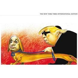 EEUU.- Trump exige una disculpa a 'The New York Times' por una caricatura en la que aparece con Netanyahu