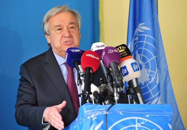 DDHH.- Guterres urge a combatir el dicurso de odio contra minorías religiosas antes de que sea demasiado tarde