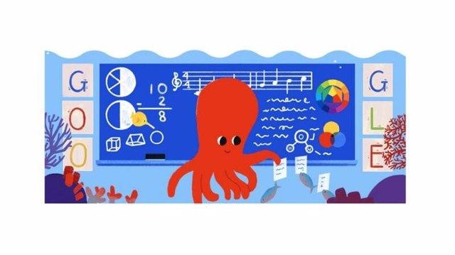 Google celebra el Día del Maestro en Paraguay con 'doodle' interactivo