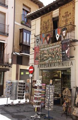 Tienda, comercio, artesanía