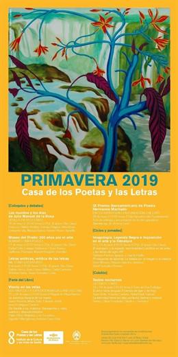 Sevilla.- Coloquios sobre la Inquisición, Elcano o De la Rosa centran el programa de primavera de la Casa de los Poetas