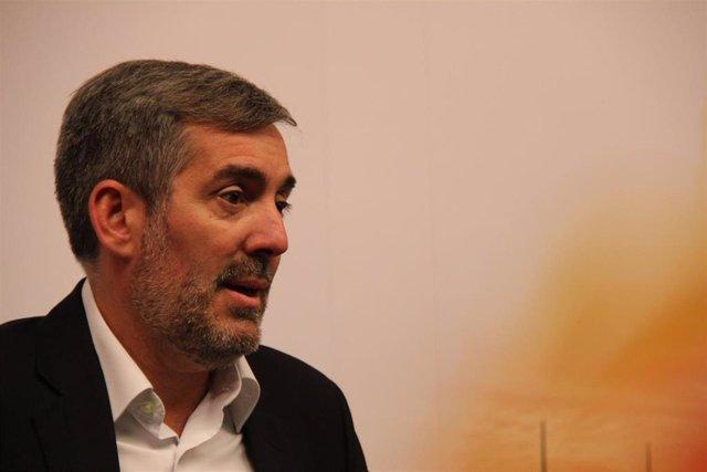 """Clavijo dice que CC está abierto a apoyos """"puntuales"""" al PSOE pero ratifica que no apoyará un gobierno con Podemos"""