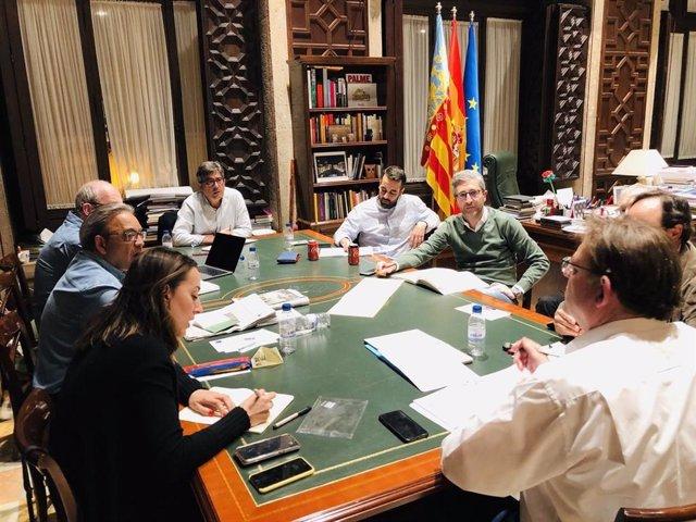 """Mata (PSPV) recuerda el día en que se decidió el adelanto electoral: """"La valentía de Puig ha reforzado nuestros lazos"""""""
