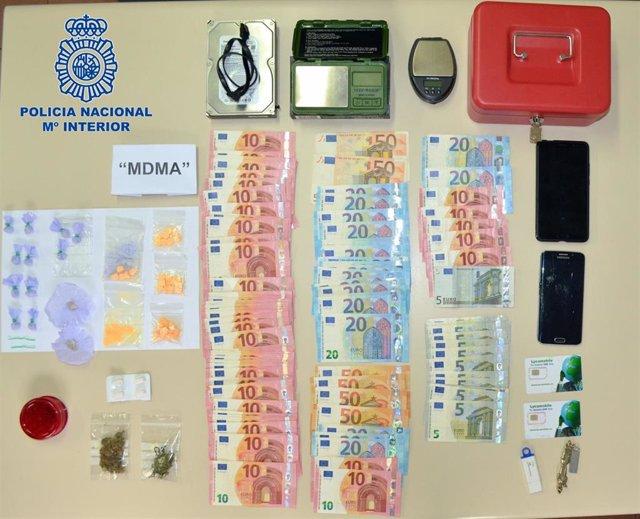 La Policía Nacional Detiene A Dos Jóvenes Un Delito De Tráfico De Droga Y Homici