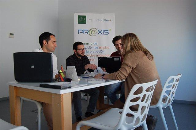 [Sevilla] Np Alcalá: En Marcha Praxis, Programa De Apoyo Empresarial Con Servici