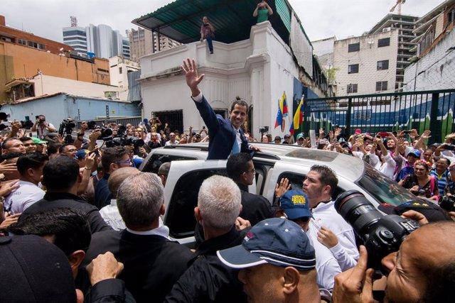 Veneuela.- Els diplomtics de Guaidó es reuneixen per incloure Rússia i la Xina en una nova estratgia contra Maduro