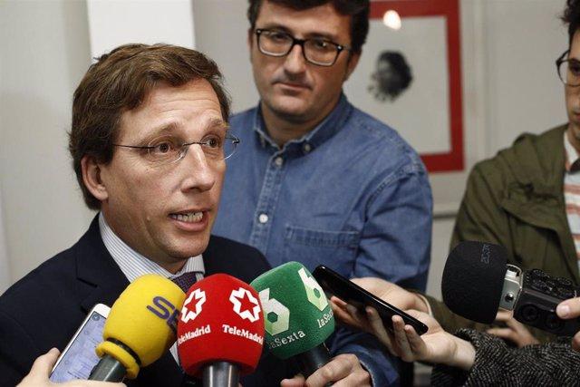 """28A.- Almeida prevé """"mejor resultado"""" para PP en urnas """"que en encuestas"""" ya que Casado """"se preocupa por los españoles"""""""
