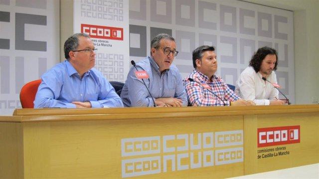 CCOO y UGT piden el cese de gerente de Geacam y se movilizarán el 18 de mayo tras la ruptura de negociación del convenio
