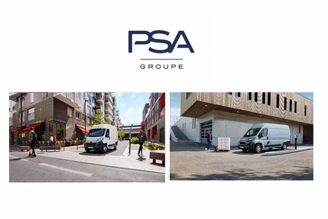 Economía/Motor.- PSA mostrará en Birmingham (Reino Unido) las versiones eléctricas de Peugeot Boxer y Citroën Jumper