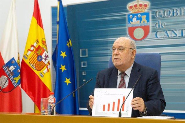 """Sota ve en el aumento del PIB cántabro un """"espaldarazo"""" a la política económica del Gobierno regional"""