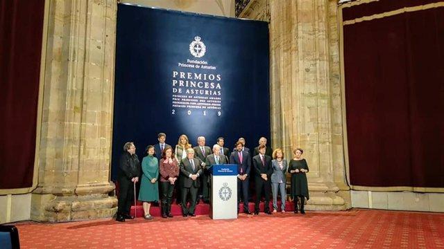 Jurado del Premio Princesa de Asturias de Comunicación y Humanidades