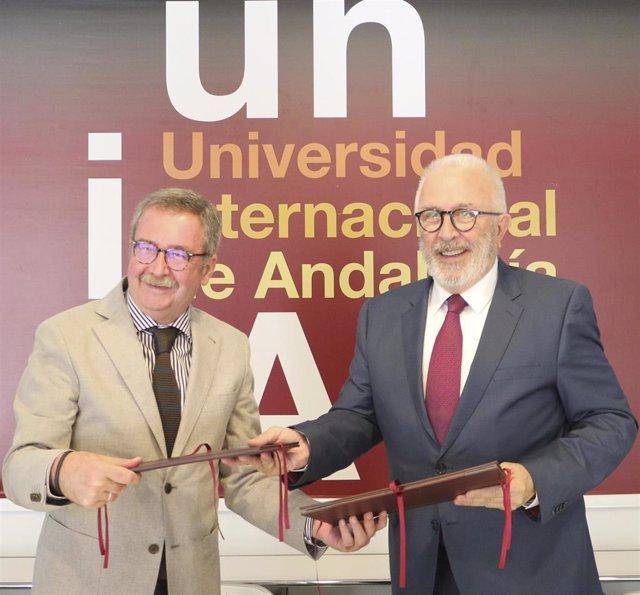 UNIA y Consejo Económico y Social de Andalucía firman un convenio para prácticas de inserción profesional del alumnado