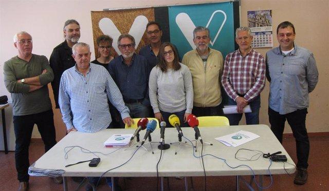 """26M.- Toma La Palabra Presenta Candidaturas """"Sin Cuneros"""" En 35 Municipios De La Provincia De Valladolid"""