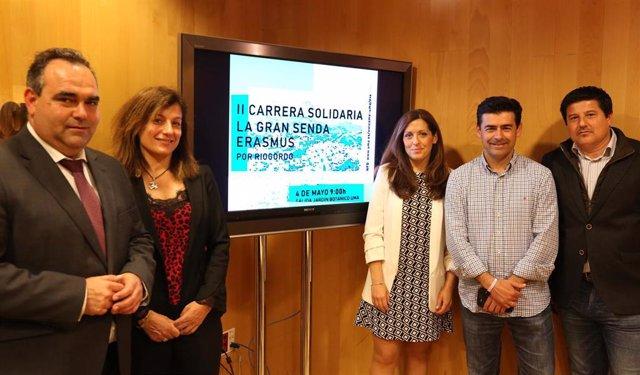 Málaga.- Estudiantes locales e internacionales de la UMA se suman este sábado a una carrera solidaria en Riogordo