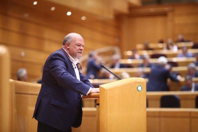 Francisco Javier Alegre en el Pleno del Senado del 155