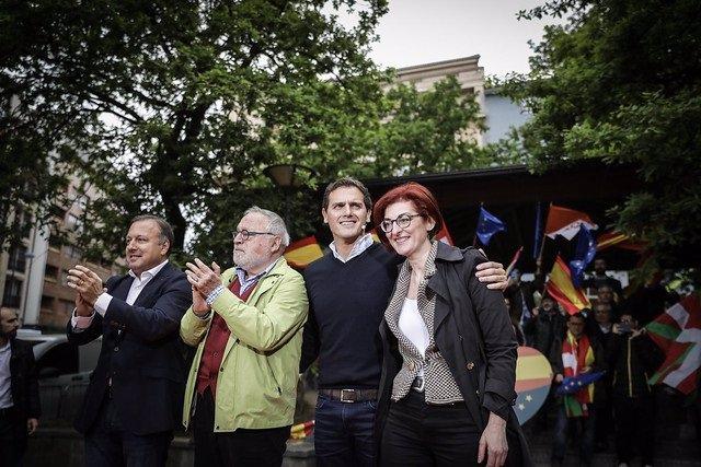 """28A.- Rivera Dice Tras Los Resultados En Cataluña Y País Vasco Que """"El Error Es Abandonarlas"""" Al Nacionalismo"""