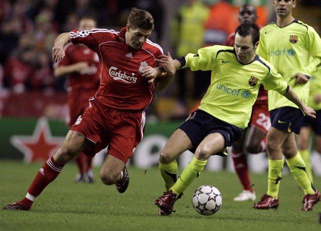 Fútbol/Liga Campeones.- El FC Barcelona nunca ha eliminado al Liverpool a doble partido