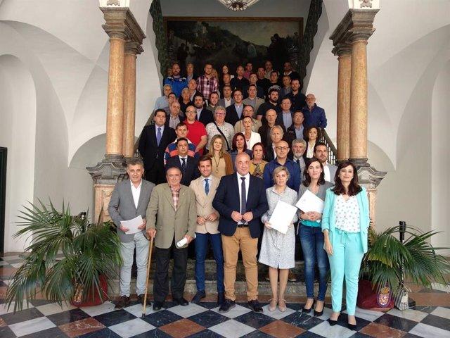 CórdobaÚnica.- La Diputación fomenta el deporte con la firma de 51 convenios y una inversión de 610.000 euros