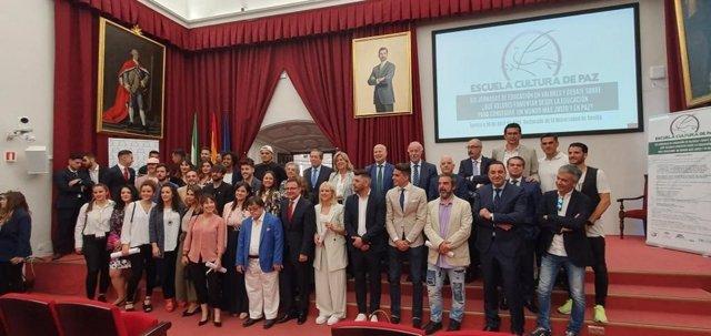 Educación.- Javier Imbroda destaca la necesidad de un educación comprometida con el fomento de la cultura de paz