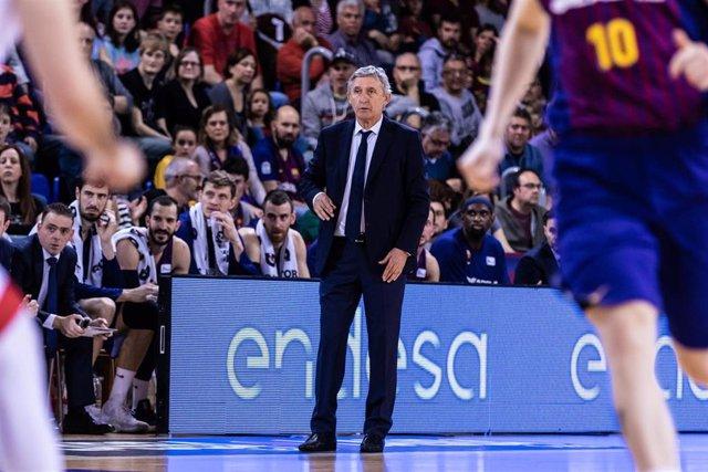 """Baloncesto/Euroliga.- Pesic: """"Jugamos un partido muy sólido y perfecto"""""""