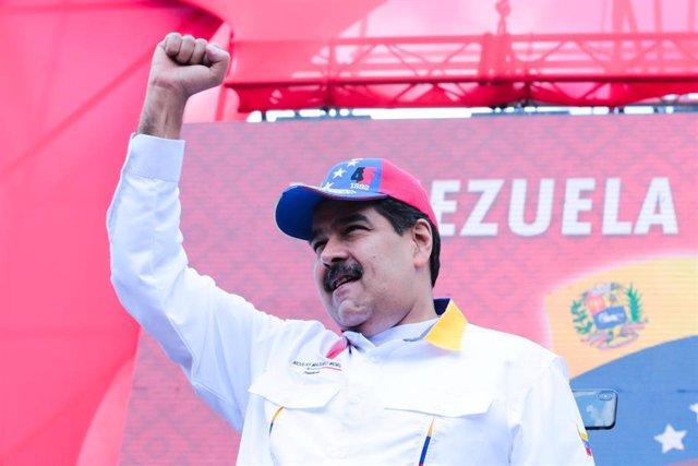 """Maduro afirma que se liberaron del """"Ministerio de las Colonias de EEUU"""" tras la salida de Venezuela de la OEA"""