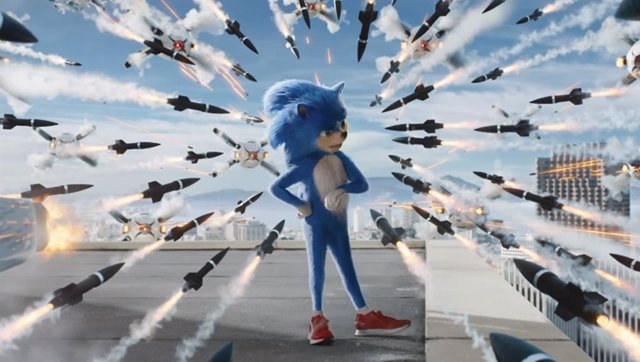 Frenético primer tráiler Sonic, la película con Jim Carrey disfrazado de Robotnik haciendo de Jim Carrey