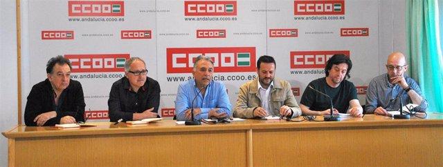 """CCOO pide a las instituciones andaluzas responsabilizarse de las orquestas sinfónicas """"ante el abandono que sufren"""""""