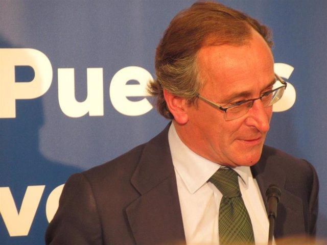 """28A.- Alonso ve """"vergonzoso"""" que Sánchez intente crear una España contra el PP cuando han luchado juntos por la libertad"""