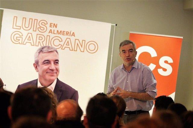 """Garicano: """"Andalucía es el primer paso del cambio que Ciudadanos quiere liderar en España"""""""