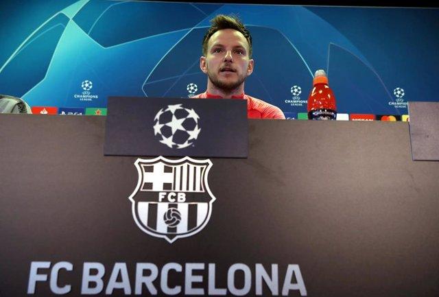 UEFA Champions League - Barcelona press conference