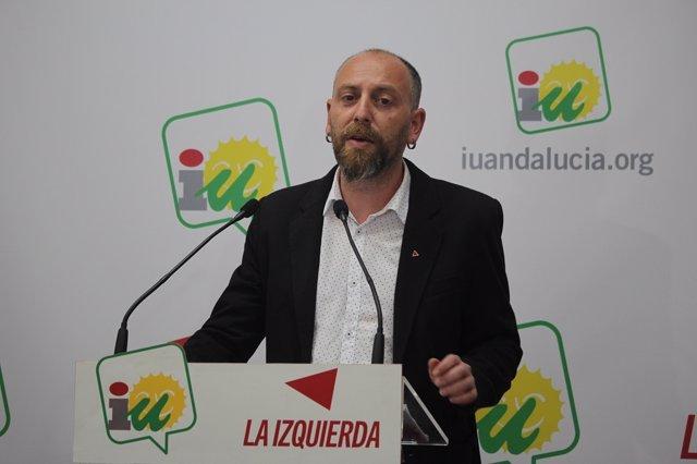 Ernesto Alba, secretario general del PCA, nuevo portavoz de IU Andalucía