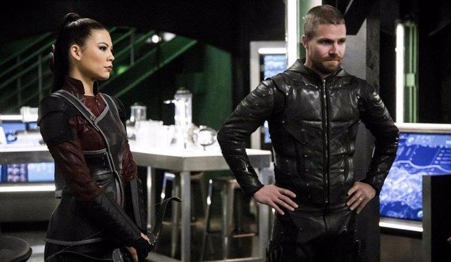 Arrow: Así será el final de 7ª temporada, con Oliver y Emiko enfrentados