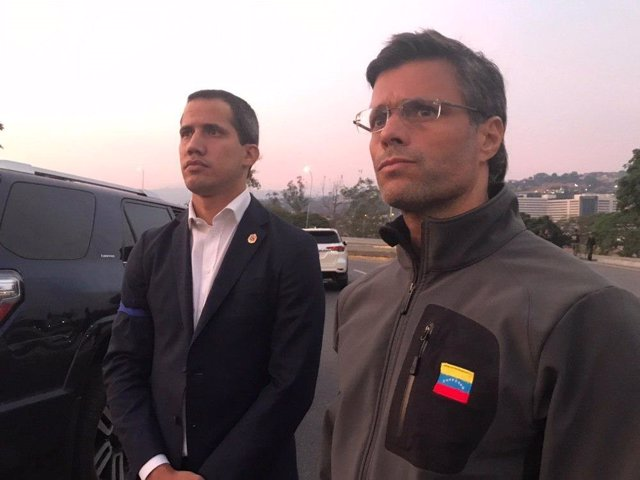 """Venezuela.- Leopoldo López: """"He sido liberado por militares a la orden de la Constitución"""""""