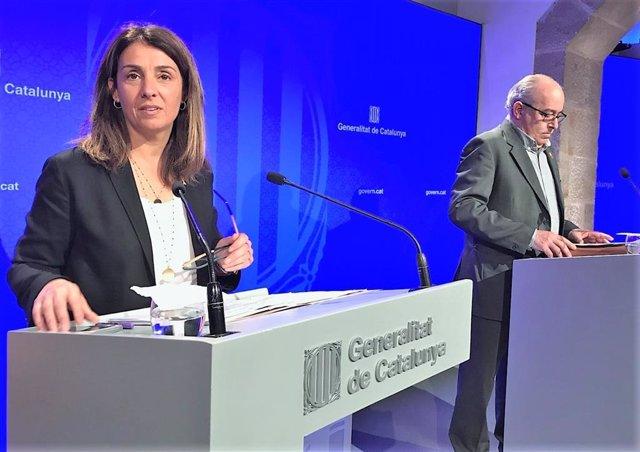 """AMP.- Govern diu que """"Catalunya i Espanya no poden governar d'esquena l'una a l'altra"""" i demana parlar sense condicions"""