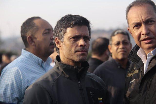 Venezuela.- Leopoldo López abandona la Embajada de Chile en Venezuela y se traslada junto a su familia a la de España