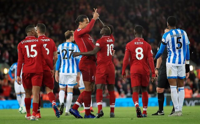 England Premier League - Liverpool vs Huddersfield Town