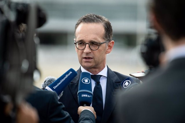 German Foreign Minister Heiko Maas in Brazil