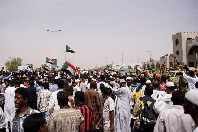 Demonstrations in Sudan