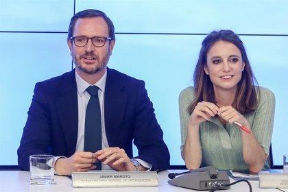 """PP quiere """"que siga esa transición democrática en libertad en Venezuela"""" y que el Gobierno de España la apoye"""