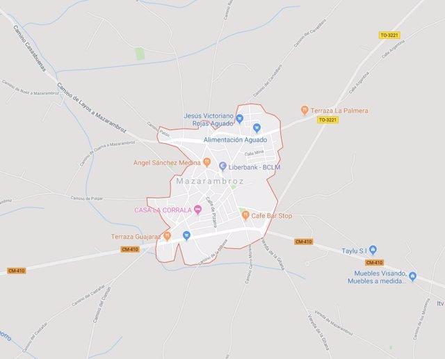 Sucesos.- Intentan rescatar a un ciclista tras caer en una zona de difícil acceso en Mazarambroz (Toledo)