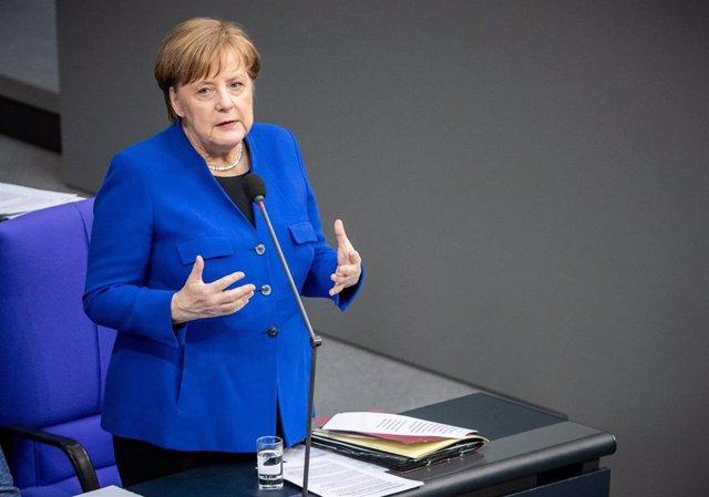 German Bundestag session in Berlin