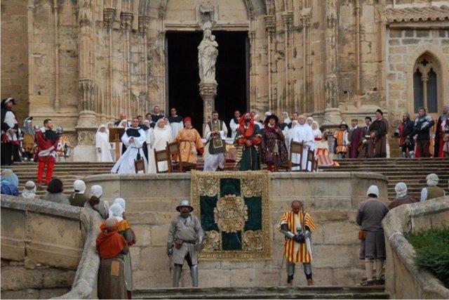 Caspe recrea este domingo el juramento de los compromisarios