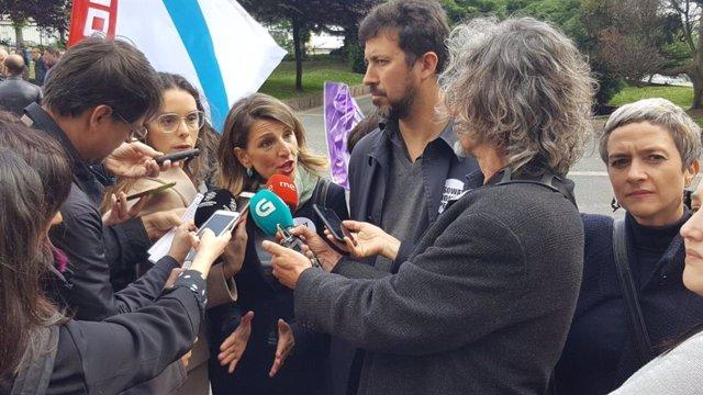 """28A.-En Común-Unidas Podemos Insta A Sánchez A Conformar Un Gobierno """"Progresista"""" Frente A Uno """"Débil"""" Solo Con El PSOE"""