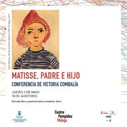 Málaga.- Victoria Combalía analiza este viernes en el Centre Pompidou  la relación entre Henri Matisse y su hijo Pierre