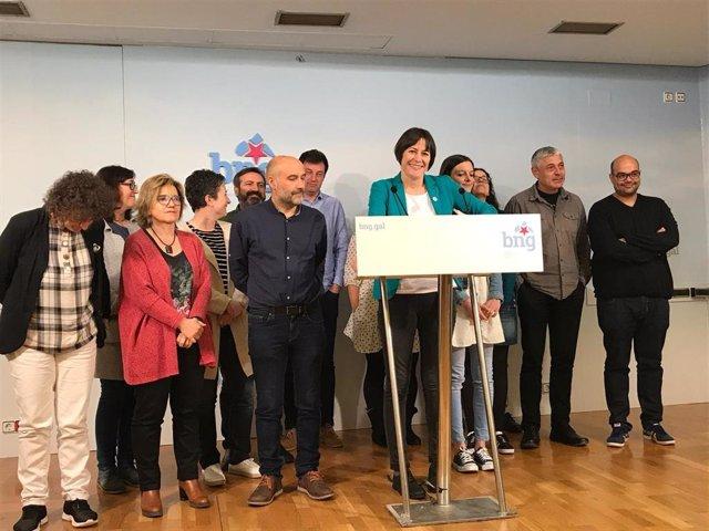 """Pontón (BNG) lamenta que Galicia no consiguiese """"voz propia"""" pero avisa de que empieza la """"cuenta atrás"""" a Feijóo"""