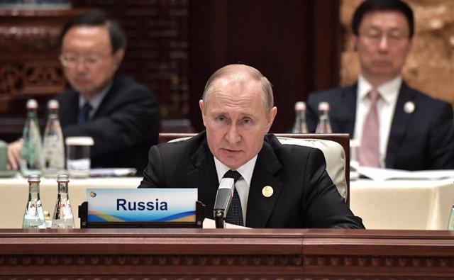 Ucrania.- Putin aboga por que rusos y ucranianos tengan una ciudadanía compartida