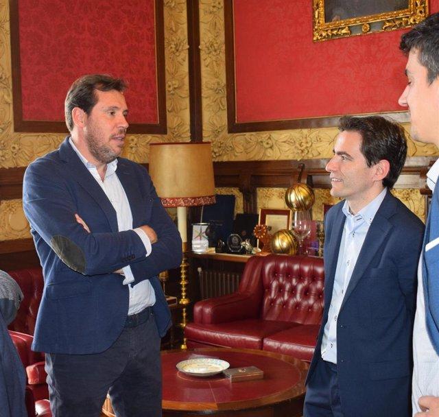 26M.- Óscar Puente, portavoz de la Ejecutiva del PSOE participará hoy en Santander en dos actos de partido