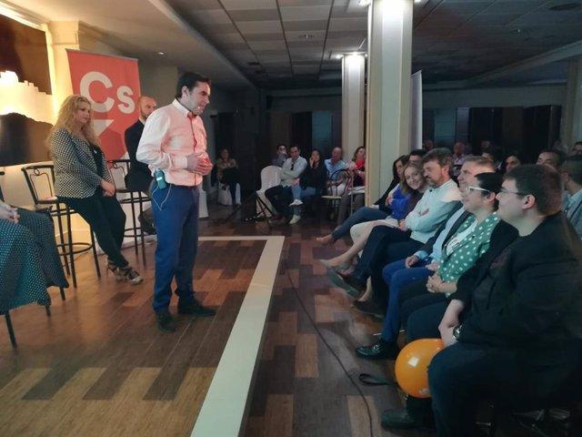 """Jaén.-26M.- Miguel Moreno lidera lista de Cs en Porcuna, donde los vecinos """"saben diferenciar entre lo bueno y lo malo"""""""