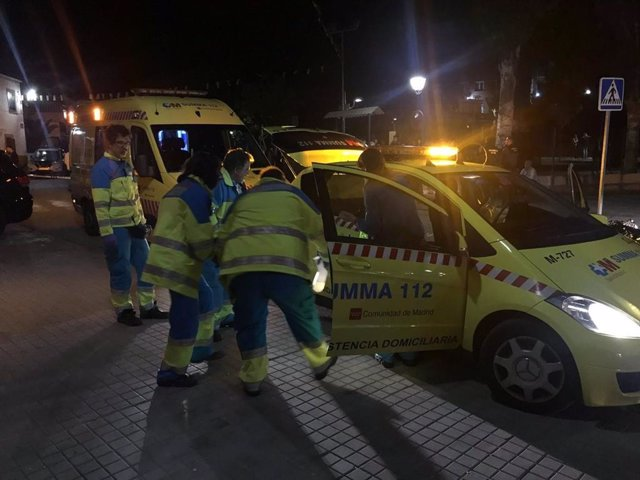 AMP.- Muere un joven y otros tres resultan heridos por arma blanca en una reyerta en Cobeña