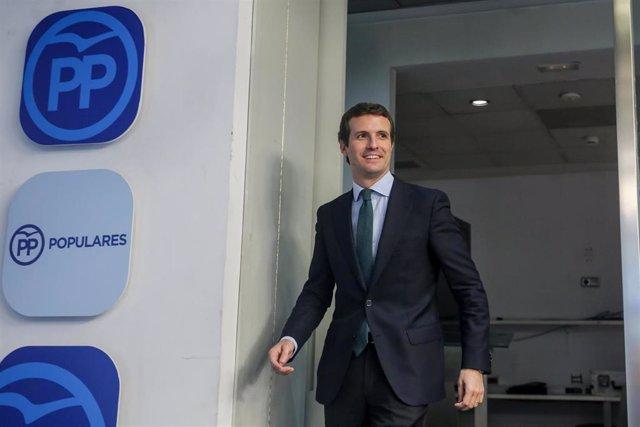 Casado pide al Gobierno garantizar la seguridad de Leopoldo López y su familia en la Embajada de España en Caracas